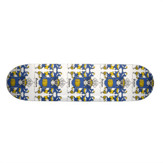 Button Family Crest Skate Decks