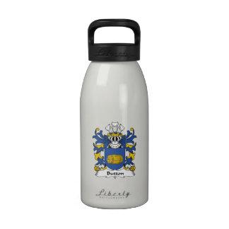 Button Family Crest Reusable Water Bottles