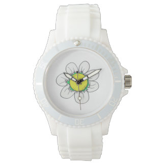 Button Flower watch