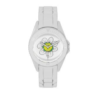 Button Flower watch