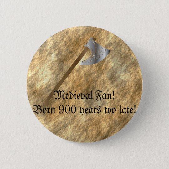 Button for mediaeval fans