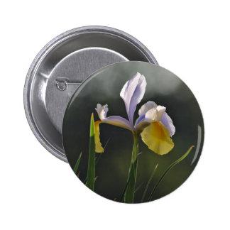 Button: Garden Orchid 6 Cm Round Badge