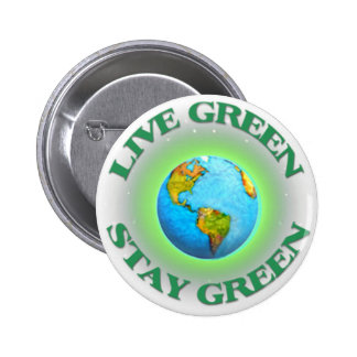 Button-Globel Go Green Spread the Word