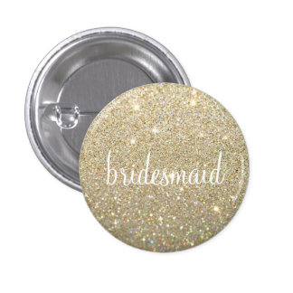 Button - Gold Fab bridesmaid