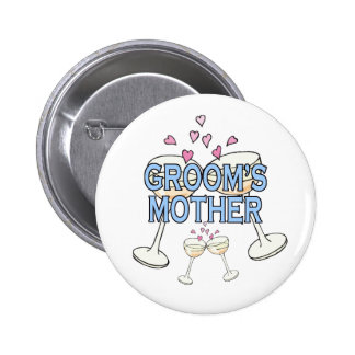 Button: Groom's Mother 6 Cm Round Badge