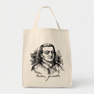 Button Gwinnett Grocery Tote Bag