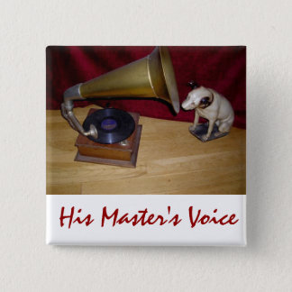 Button - His Master's Voice