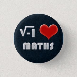 Button I LOVE MATHS