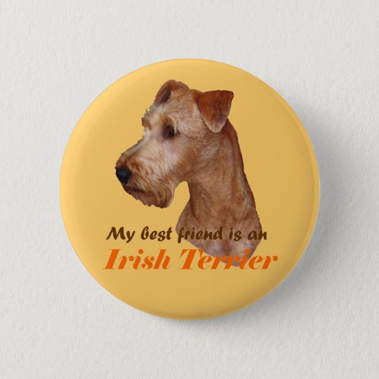 "Button ""Irish Terrier """