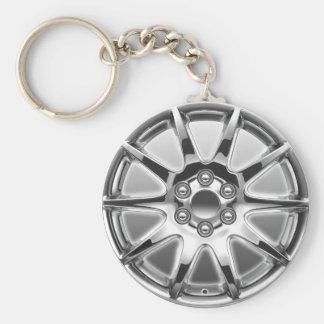 Button Key chain