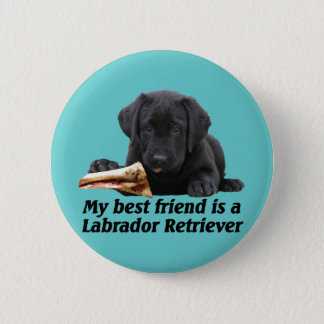 "Button ""labrador retriever """