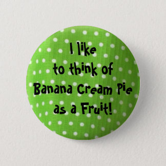 Button-life thought 6 cm round badge