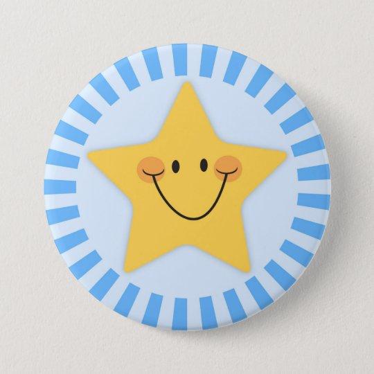 Button: Little star 7.5 Cm Round Badge