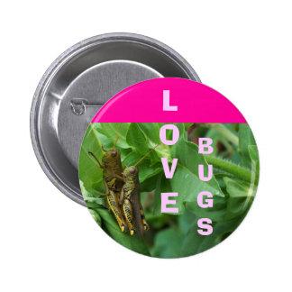 Button Love Bugs