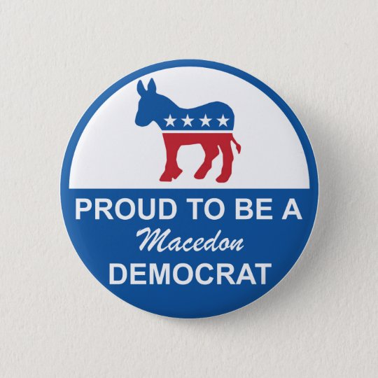 Button Macedon Dems 2
