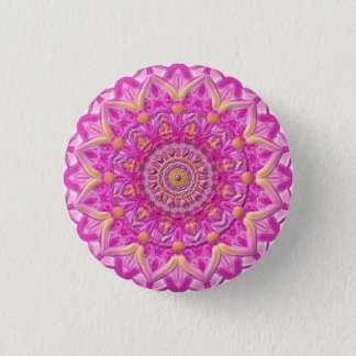 "Button Mandala 12 ""Magenta """