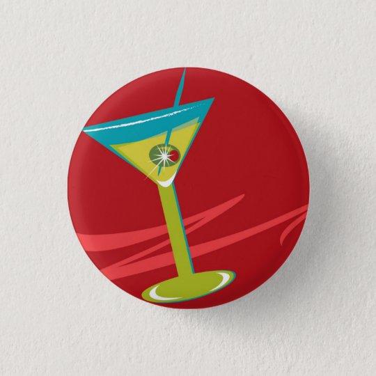 Button_Martini flair 3 Cm Round Badge