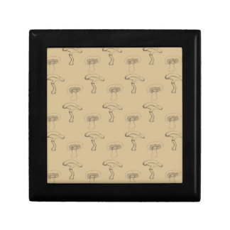 Button mushroom gift box