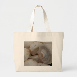 Button Mushrooms Canvas Bags