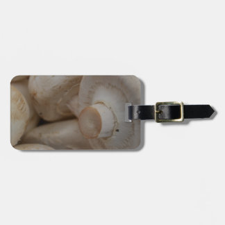Button Mushrooms Luggage Tags
