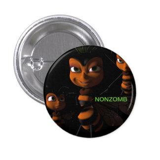 Button Nonzomb Queen Bee
