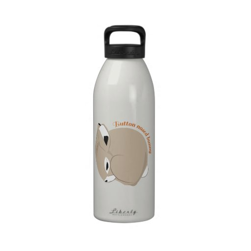 Button Nosed Bunny Drinking Bottle
