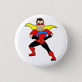 Button of real life superhero Balloonman!