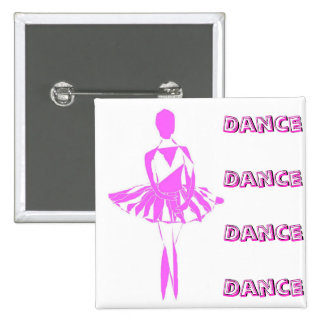 button pin ballet dancer passion love