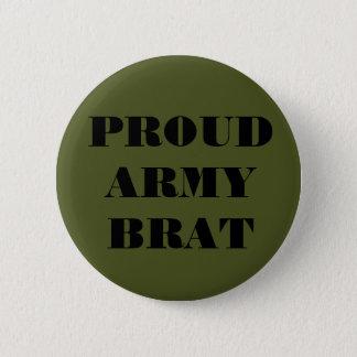 Button Proud Army Brat