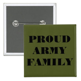 Button Proud Army Family
