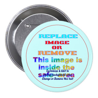 Button Round Large, 3 Inch