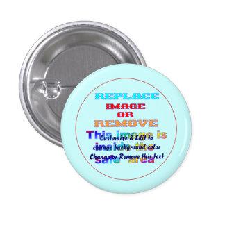Button Round Small, 1¼ Inch