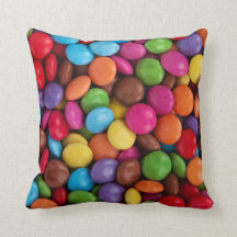 Button-Shaped Candy - Purple Pink Orange Green