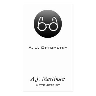 Button Style Old Fashioned Glasses Business Cards