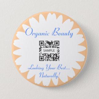 Button Template Organic Beauty