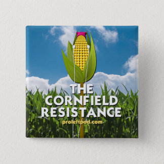 Button - The Cornfield Resistance