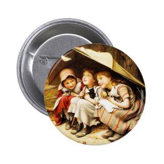 Button: Three Little Kittens 6 Cm Round Badge