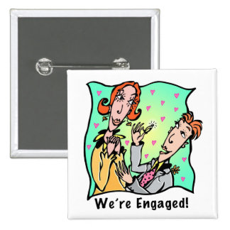 Button: We're Engaged II