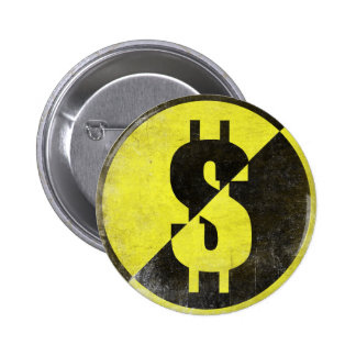 Button with Cool Anarcho-Capitalist Flag
