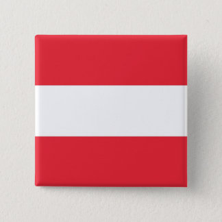 Button with Flag of Austria