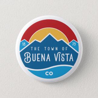 Button with round logo