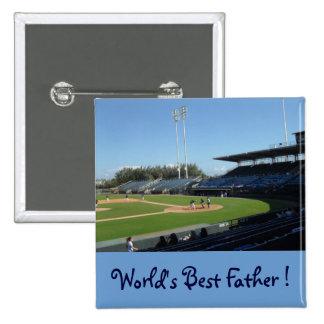 """Button  """"World's Best Dad"""""""