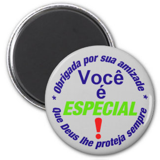 button You is special 6 Cm Round Magnet