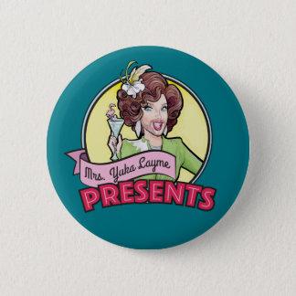 Button: Yuka in Green 6 Cm Round Badge