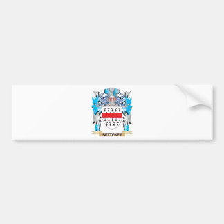 Buttoner Coat of Arms Bumper Stickers