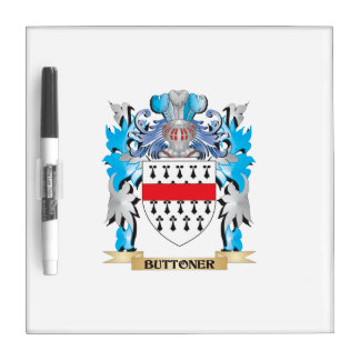 Buttoner Coat of Arms Dry Erase Whiteboard
