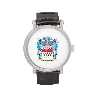 Buttoner Coat of Arms Wristwatches