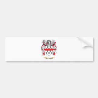 Buttoner Coat of Arms Family Crest Bumper Stickers