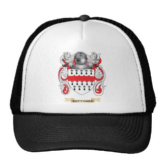 Buttoner Coat of Arms Family Crest Trucker Hat