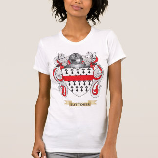Buttoner Coat of Arms (Family Crest) T Shirt
